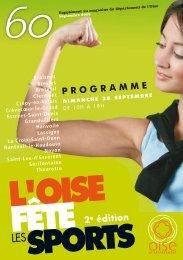 Numéro 41 supplément sports - Conseil général de l'Oise