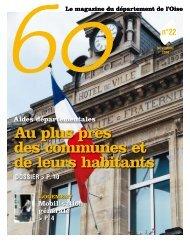 Numéro 22 - Conseil général de l'Oise