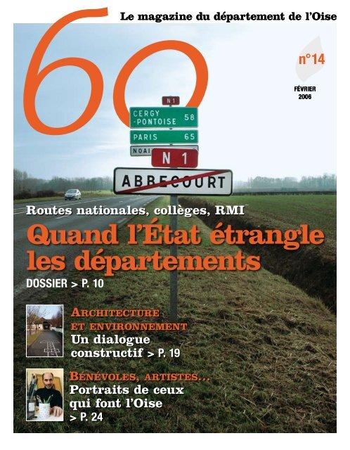 Quand l'État étrangle les départements - Conseil général de l'Oise