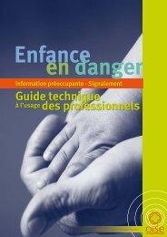 Le guide de l'enfance en danger - Conseil général de l'Oise