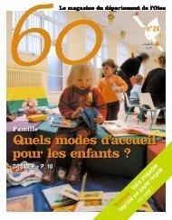 Quels modes d'accueil pour les enfants ? - Conseil général de l'Oise