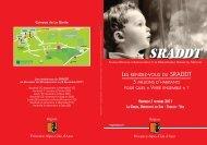 Télécharger l'invitation et le programme (752 Ko) - SRADDT