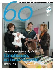 Numéro 35 - Conseil général de l'Oise