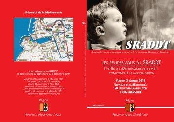 Télécharger l'invitation et le programme (1505 Ko) - SRADDT