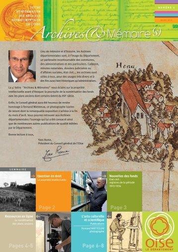 journal archives 4.qxd - Conseil général de l'Oise