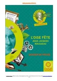 Télécharger le dossier de presse Rousseau 2012 - Conseil général ...