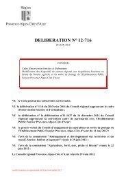 Délibération n°12-716 du 29 juin 2012