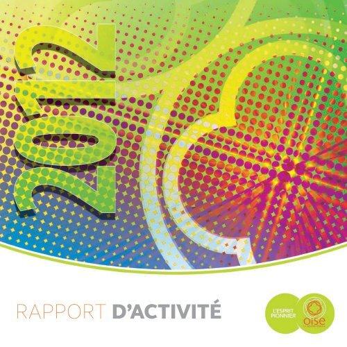 Téléchargez Le Rapport Dactivités 2012 Conseil Général De