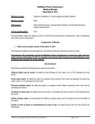 12 08 11 Police Comm Minutes.pdf - Town of Wolfeboro