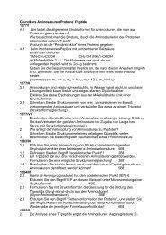 Grundkurs Chemie Aminosaeuren Proteine Peptide - Bentz46.de