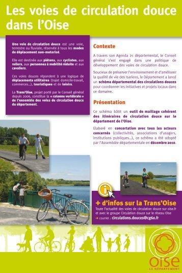 Dossier circulations douces - Conseil général de l'Oise