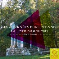 Les journées européennes du patrimoine 2012 - CRDP