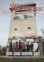 """PLaTTenKriTiK """"The Wall"""" - Der Wachturm - Die PARTEI Berlin"""