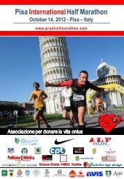 Entry form - Pisa Half Marathon