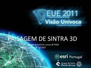 paisagem de sintra 3d - Esri Portugal