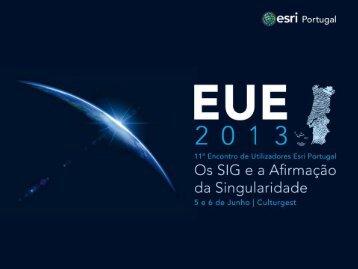 A informação geográfica para a sustentabilidade do ... - Esri Portugal