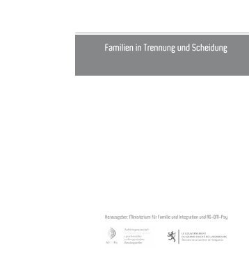 Familien in Trennung und Scheidung - Ministère de la Famille et de l ...