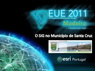 Os SIG no Município de Santa Cruz - Esri Portugal