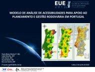 Análise de Acessibilidades para Apoio ao ... - Esri Portugal