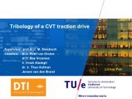 Traction drive modeling - van de Bond voor Materialenkennis