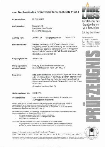Forex Print B1 Zertifikat