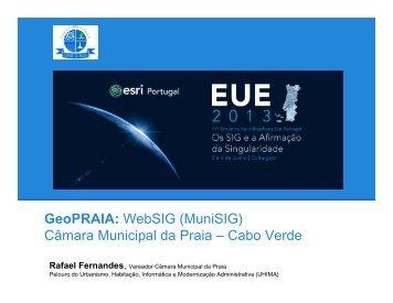 SIG Municipal da Praia - Esri Portugal