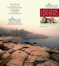 layout 1 - Maine Coast Memorial Hospital