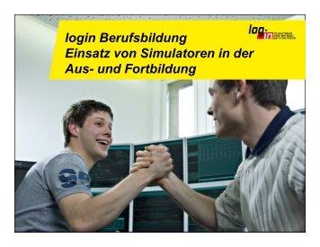 Einsatz von Simulatoren - Iafw-gotha.de