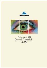 We help you to grow - Neschen