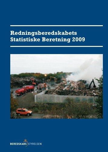 Redningsberedskabets Statistiske Beretning 2009