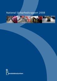 National SÃ¥rbarhedsrapport 2008 (Pdf) - Beredskabsstyrelsen