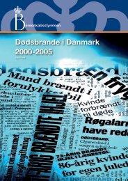 Dødsbrande i Danmark 2000-2005 - Beredskabsstyrelsen