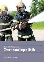 Personalepolitik - Beredskabsstyrelsen
