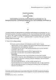 Ændringsforskrift af 14. august 2006 (pdf) - Beredskabsstyrelsen