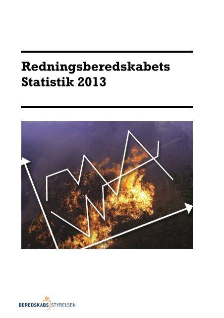 Redningsberedskabets Statistik 2013 (pdf) - Beredskabsstyrelsen