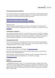 Informationsmateriale om ADR 2011 - Beredskabsstyrelsen