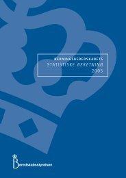 Redningsberedskabets Statistiske Beretning for 2005
