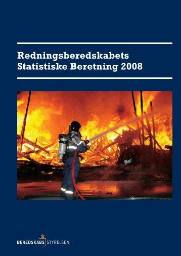 Redningsberedskabets Statistiske Beretning 2008