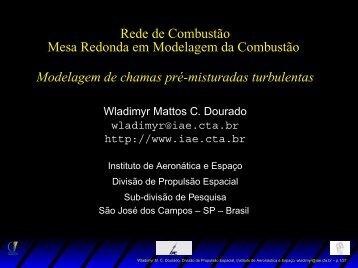 Rede de Combustão Mesa Redonda em Modelagem da Combustão ...