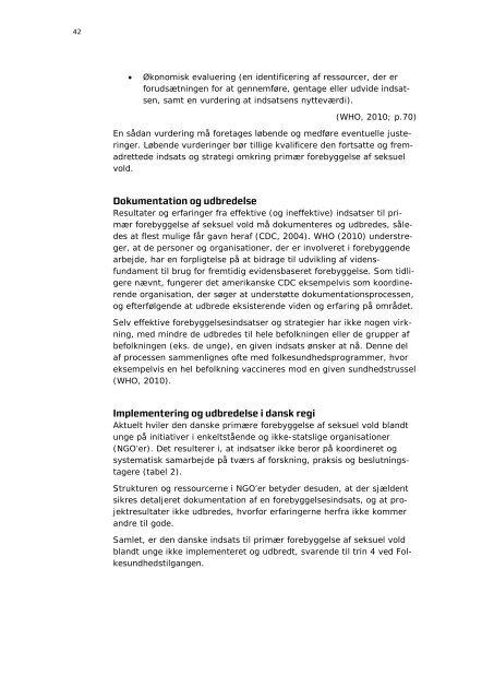 Seksuel vold blandt danske unge