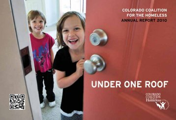 2010 Annual Report - Colorado Coalition for the Homeless