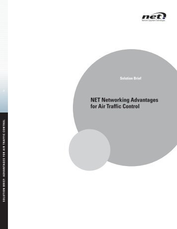 NET Networking Advantages for Air Traffic Control - Network ...