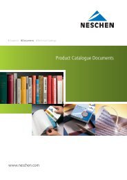 Product Catalogue Documents - Neschen