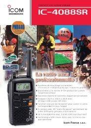 Documentation commerciale IC-4088SR - Icom France