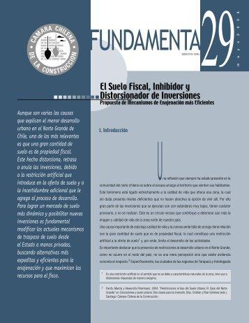 fundamenta 29.indd - Biblioteca - Cámara Chilena de la Construcción