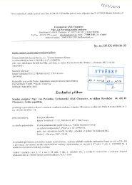 Exekuční příkaz - Praha 18 Letňany