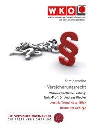 Versicherungsrecht - Versicherungsmakler und Berater ...