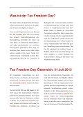 Tax Freedom Day 2013 - Austrian Economics Center - Seite 2