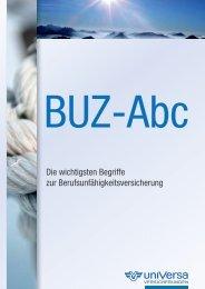 Universa BUZ ABC - Dienstunfähigkeit