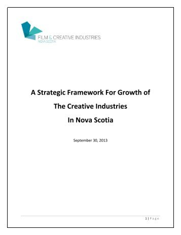A Strategic Framework for Growth
